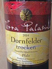 Pflaz…..and RED…  A little bit different…., but I like it!  Read on….  http://www.wijngekken.nl/2015/06/17/terra-palatina-dornfelder-trocken-2014-dq-pfalz-duitsland/