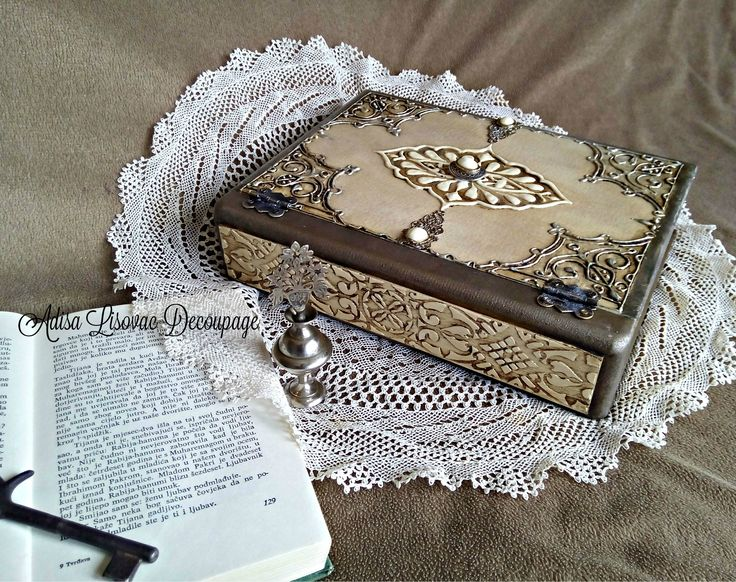 Decorative Fake Book Boxes 261 Best Caixa Livros Images On Pinterest  Decorated Boxes