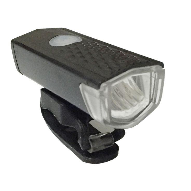 300LM USB Rechargeable Vélo Avant Lumière CREE Haute Puissance Tête lampe de Poche Avertissement Vélo Vélo LED Lampe D'éclairage Étanche