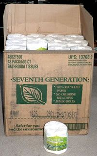 Seventh Generation & Amazon.com: Solving my toilet paper problem :: My Plastic-free Life