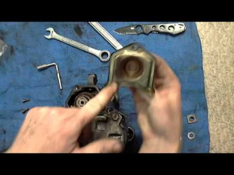 "www.hournineracecraft.com Most starters can be ""rebuilt"" in this way by simply replacing the contacts inside. Two years after this video I sold the truck and..."
