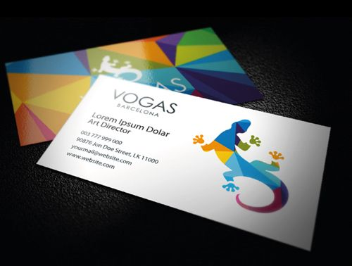 Modern Business Cards Design – 25 Fresh Examples