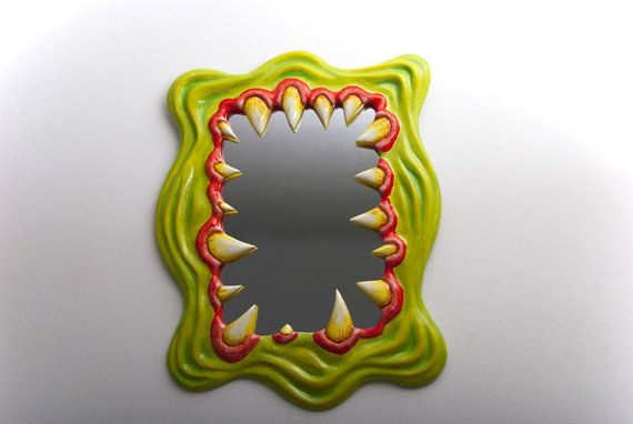 Decorative Monster Wall Mirror