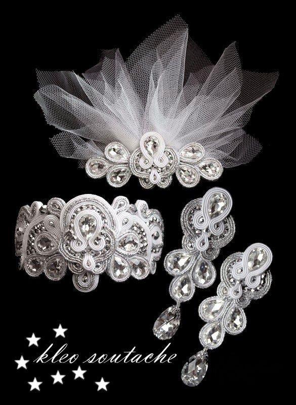 Sutasz Kleo /Soutache jewellery: MADELINE
