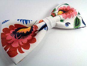 Poľný motýlik / Handmade bowtie