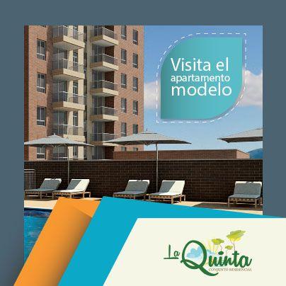 El buen gusto y la comodidad siempre están reflejadas en tu hogar. Estas dos experiencias las puedes fusionar en La Quinta. ¡Ven y visita nuestro apartamento modelo!. Llámanos 272-09-79