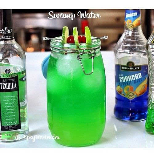Tipsy bartender swamp water recipe for Fish bowl drink tipsy bartender