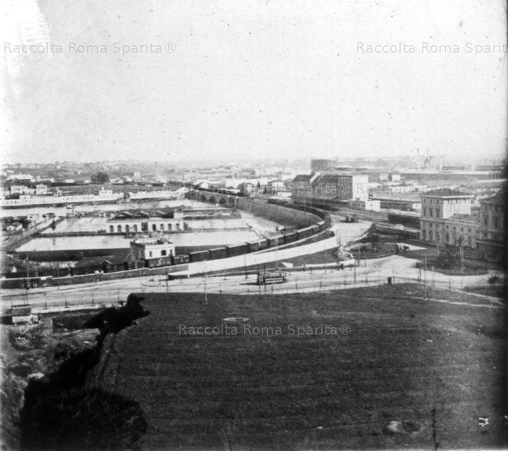 Stazione Trastevere Anno: 1920 circa