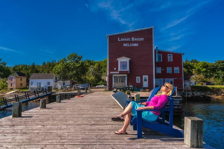 Enjoying the sun in Lahave, Nova Scotia. #exploreCanada