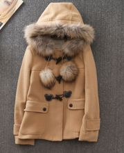 Winter Ladies Coats With Fur Hood China clothing factory BSCI  Best Seller follow this link http://shopingayo.space