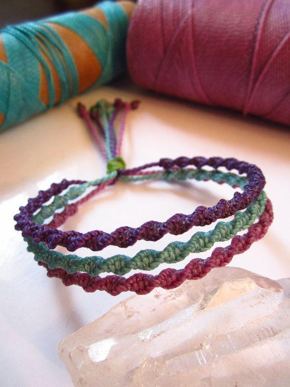 Handmade Friendship Bracelet by PapachoCreations on Etsy, $17.00