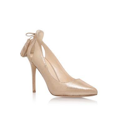 Nine West Gold 'Erienne' high heel sandals | Debenhams