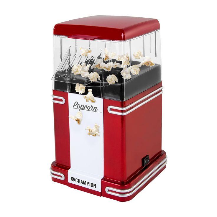Champion Popcornmaskin Retro Small - Kodin elektroniikka