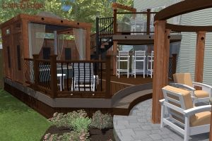 From concept to reality...our deck designs start-to-fish, as seen on HGTV! Check out the process behind the magic and get a closer look at your favourites.