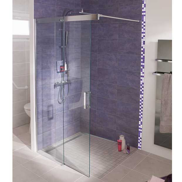 25 best ideas about porte de douche coulissante on - Porte de douche italienne ...