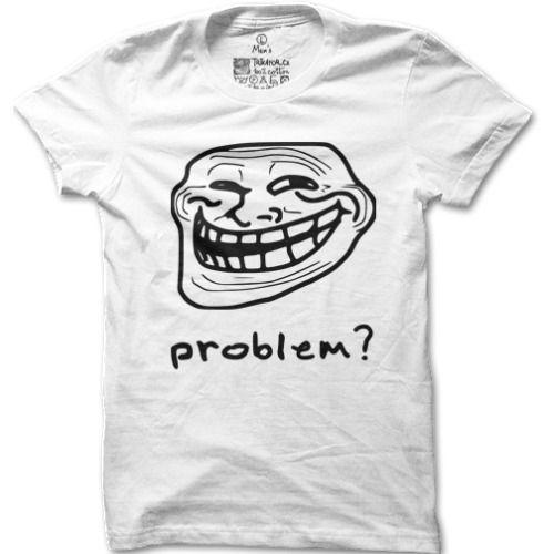 Pánské tričko Trollface - http://www.vtipnatricka.cz/panske-tricko-trollface/