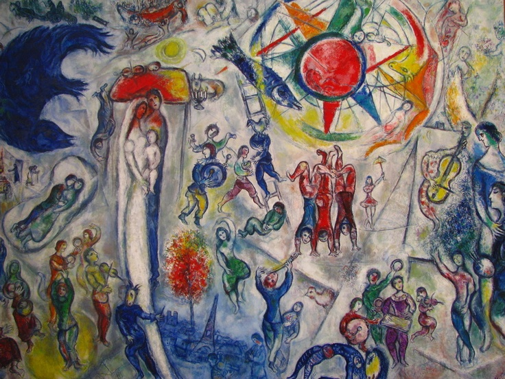 1000 images about chagall on pinterest for Chagall mural chicago