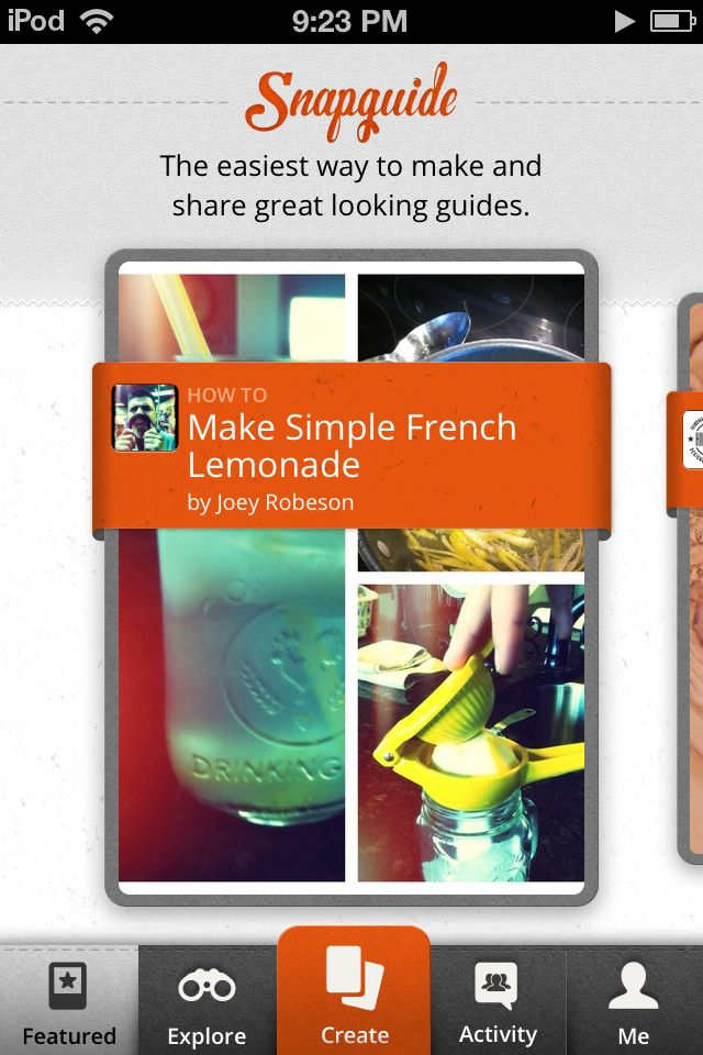 Snapguide, the photo tutorial app, allows users to create step-by-step guides about anything that interests them.