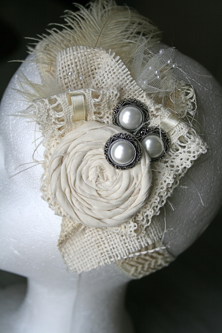 Vintage Headband  ... could use on anything