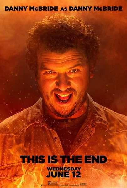 This is the End (2013, dirs. Seth Rogen and Evan Goldberg) is pretty unimaginative. Danny McBride and James Franco are a hilarious pair, though.
