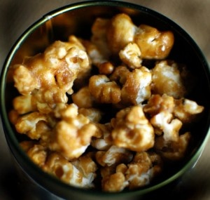 DYI Caramel Corn. This could get dangerous.
