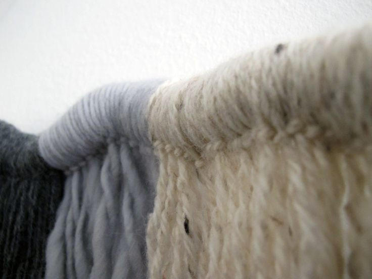 Contextuality / wall hanging from lamb's wool