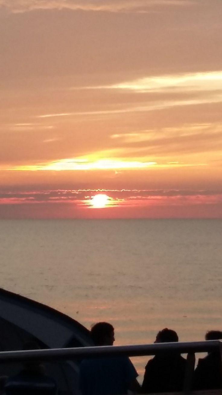 Sonnenuntergang Westerland