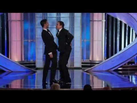 Jimmy Fallon and Adam Levine funny moments - Golden Globes 2012 HQ - YouTube