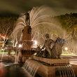 Fountain in Hyde Park, Sydney.