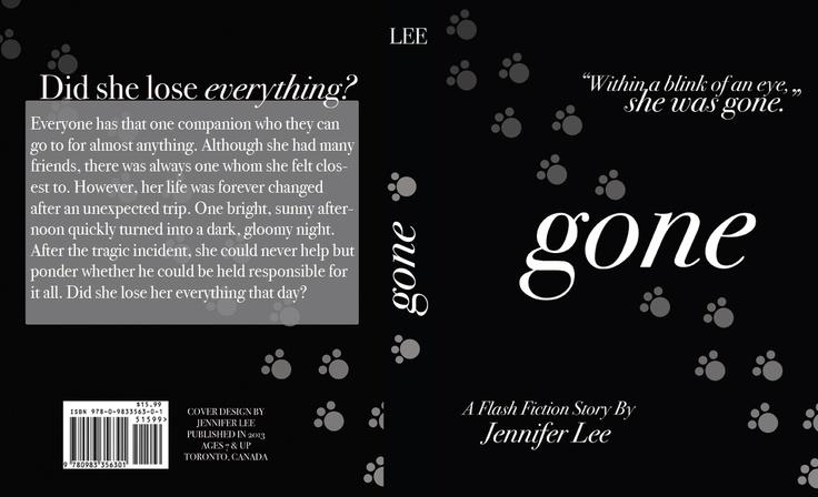 Gone - Book Cover - Jennifer