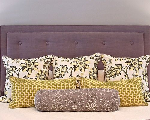 I really love the color and style of this headboard