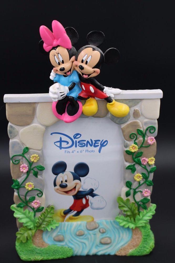 Disney Mickey Minnie Mouse Photo Frame #DisneyLiscensedbyEnesco #Novelty