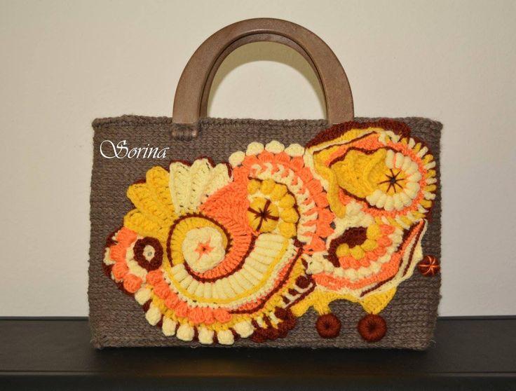 crochet bag freeform