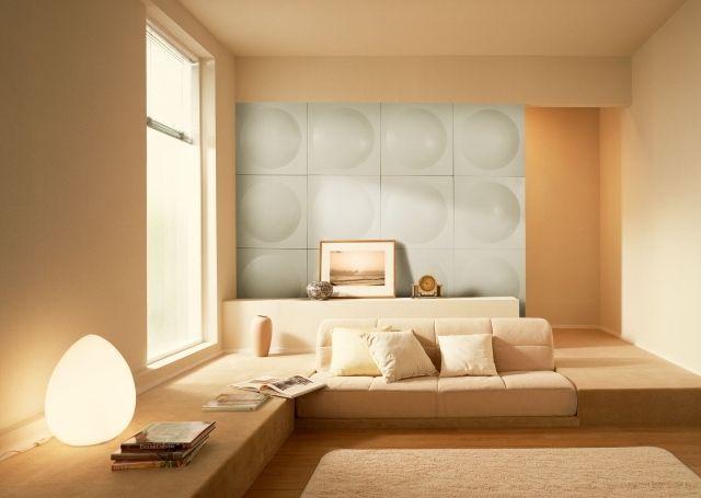 Die besten 25+ 3D Wandplatten Ideen auf Pinterest strukturierte - wandgestalten mit farbe