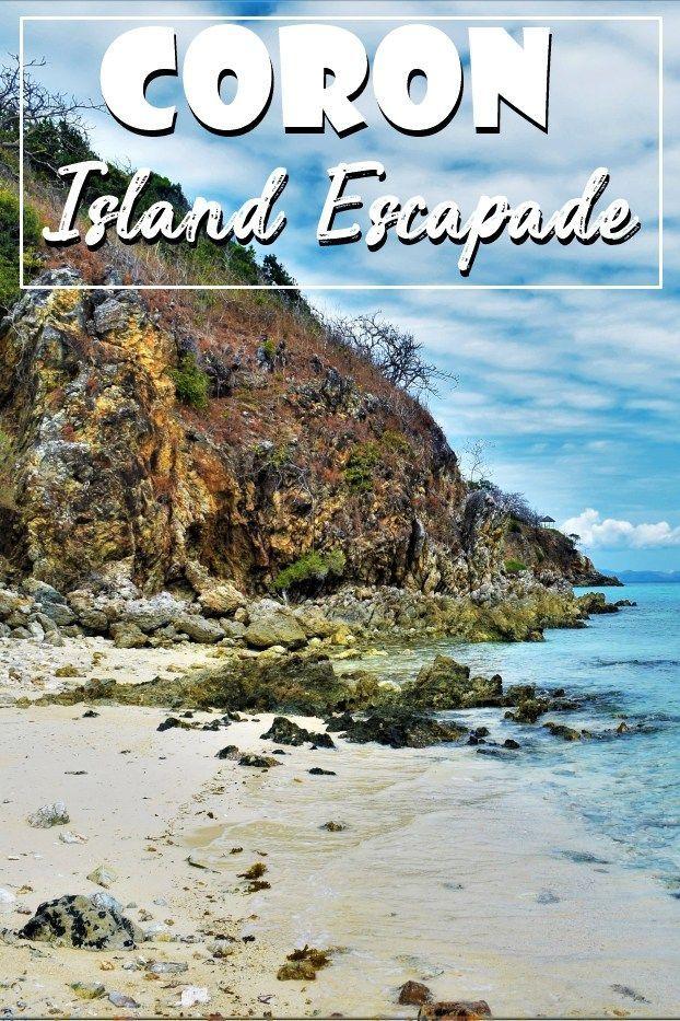 Coron, Philippines | Island Escapade | Tour C | Coron Palawan | island hopping | Banana Island | Bulog Island | Malcapuya Island | beautiful islands | Coron island | Travel Philippines