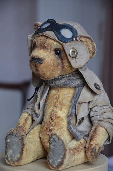 Teddy bear Alfred by By Evgeniya Sidorenko | Bear Pile