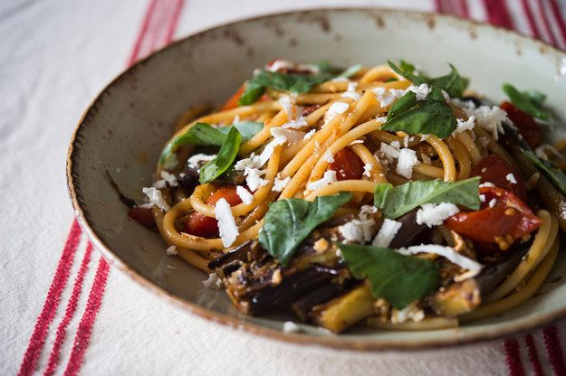 Pasta alla Norma (Pasta with Tomatoes and Eggplants) | Community Post: 23 Sicilian Dishes To Die For