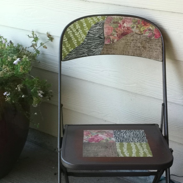17 Best Ideas About Old Metal Chairs On Pinterest Diy