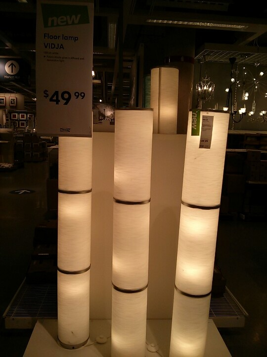 Vidja Ikea Lamp 50 Light It Up Pinterest Floor