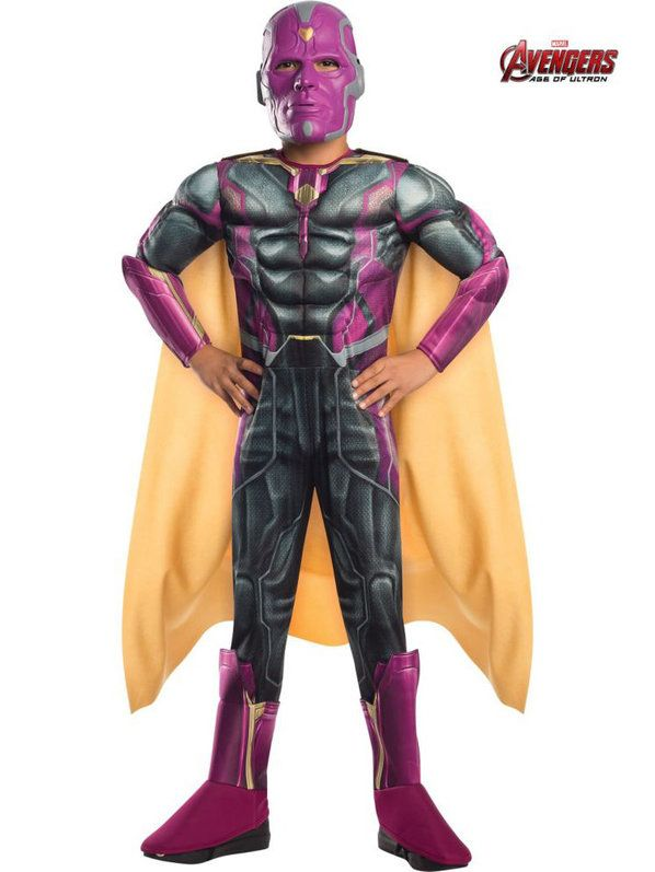 Avengers 2 Deluxe Vision Child Costume
