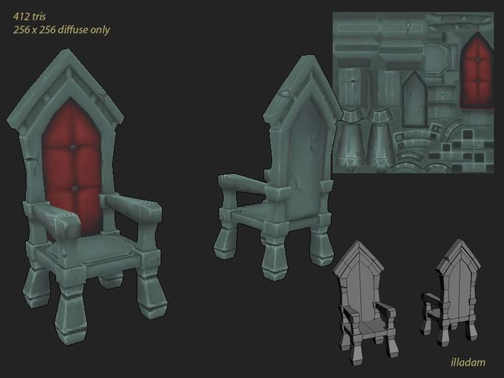LOWPOLY (sub 1000~ triangle models) - Page 164 - Polycount Forum