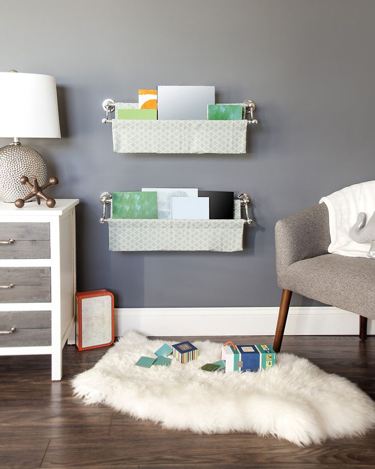 DIY Wall-Mounted Book Sling