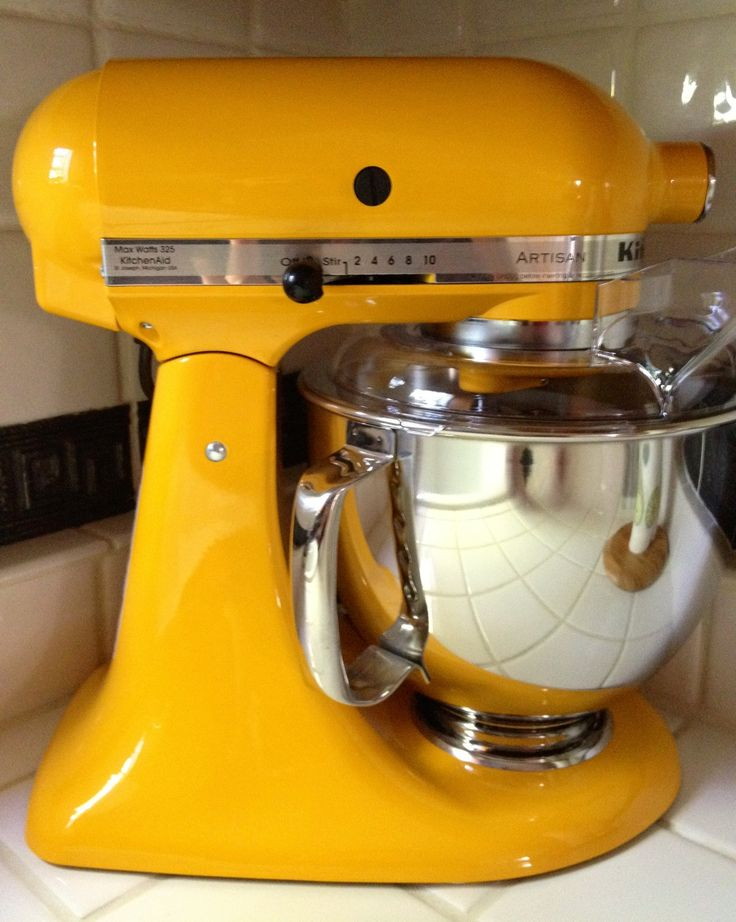 Amazing Yellow Pepper KitchenAid Mixer