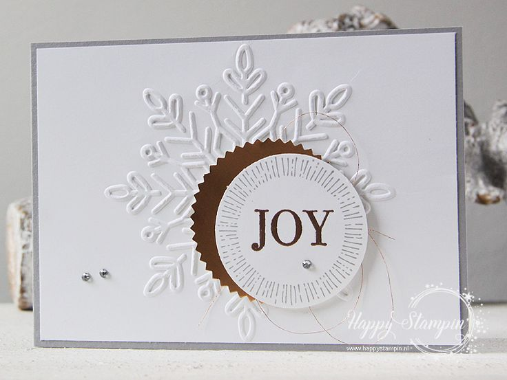 Stampin' Up! - Happy Stampin' - Janneke de Jong - Cheers to the Year