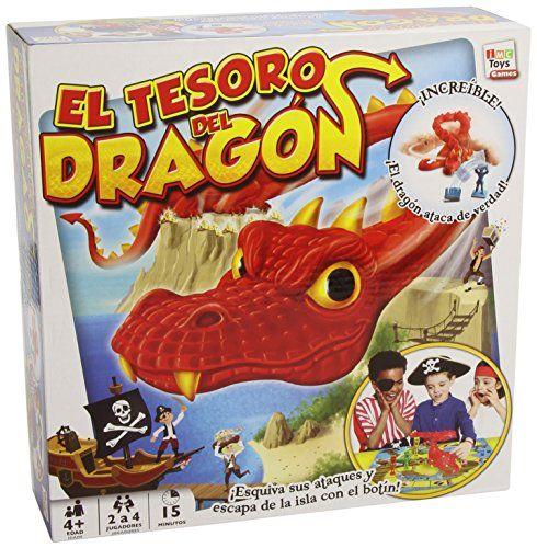 IMC Toys – El tesoro del dragón, juego de mesa (9509)