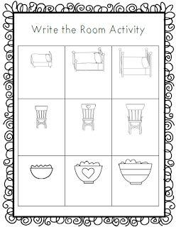 Goldilocks and the Three Bears- Write the Room Activity