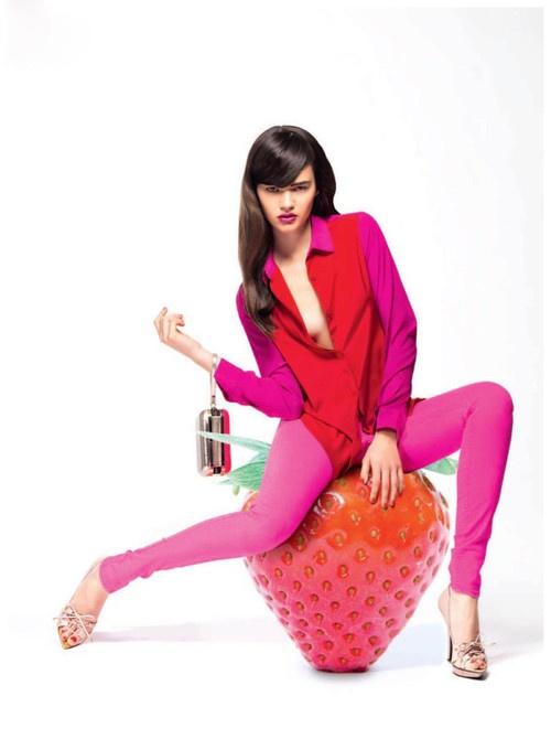 'Vitamin C' Andrea Ojdanic By Chris Singer For Madonna Magazine, February 2013