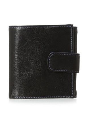 50% OFF Tusk Women's Compact French Wallet, Black/Marine