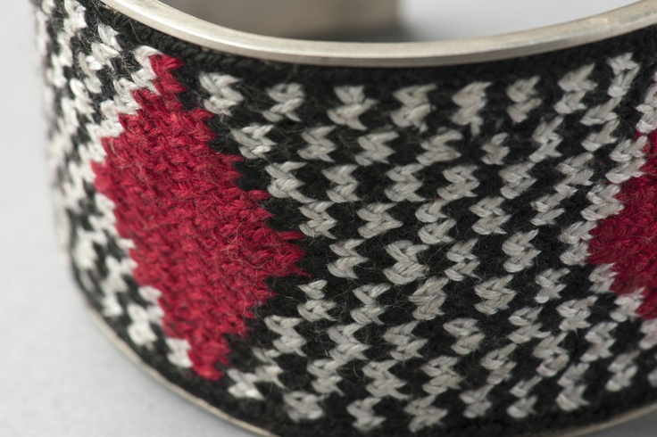 "Unku Inka Checkered Bracelet/Pulsera ""Unku Inka ajedrezado"""