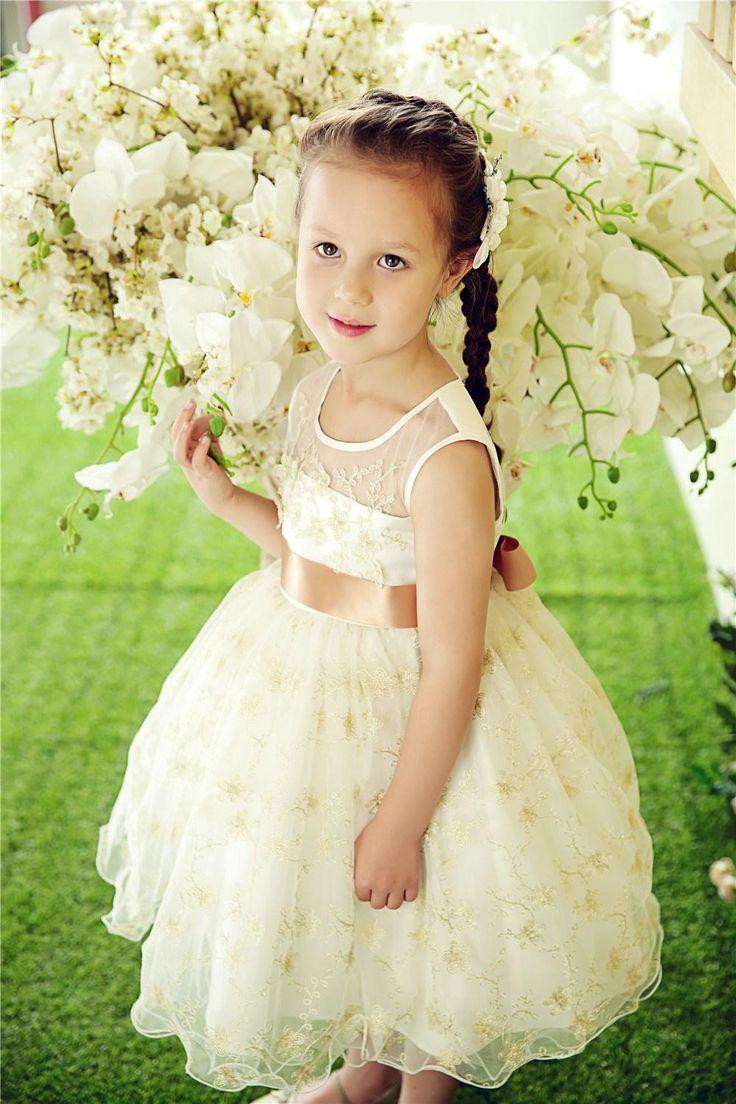 103 Best Images About Girls Wedding Dress On Pinterest